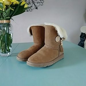 Authentic UGG tassel boots